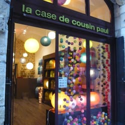 La case de cousin paul home decor vieux lyon lyon - Suspension la case de cousin paul ...