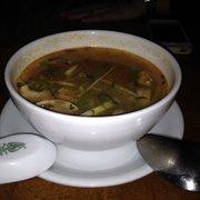 Soup Tom with prawns. Really nice!