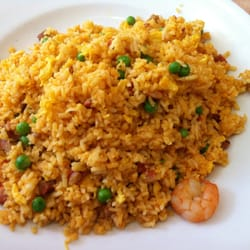 Singapore style fried rice