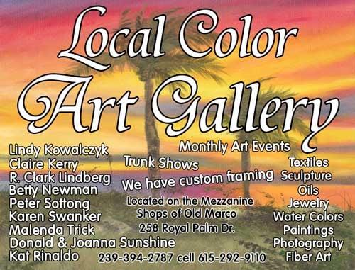 Local Color Art Gallery Art Galleries Marco Island Fl