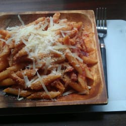 Pasta of the day - changes daily, but…
