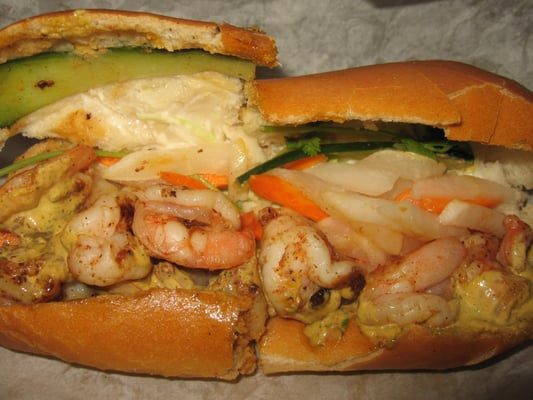 Bigg Shrimp'n Food Truck - Grilled shrimp banh mi - San Jose, CA ...