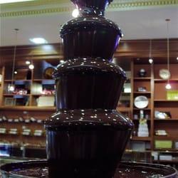 Et la Fontaine à Chocolat!!!!!