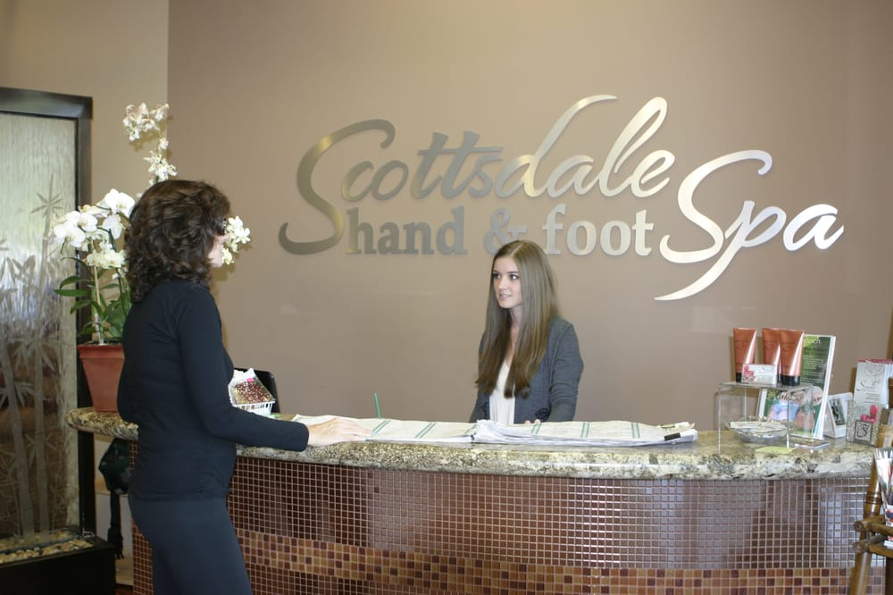 Scottsdale Hand and Foot Spa - Scottsdale, AZ, United States. Reception