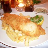 Fish and Chips at The Windmill Mayfair, London