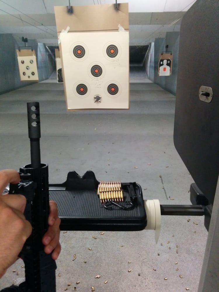 American Shooting Center Kearny Mesa San Diego Caml