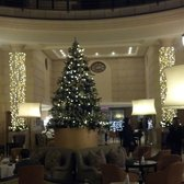 Lobby at Christmas Time