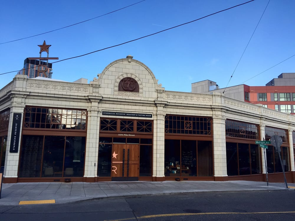The Starbucks Reserve Roastery Tasting Room Reservations