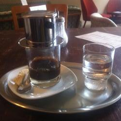 Eine echte Spezialität des Cafés…