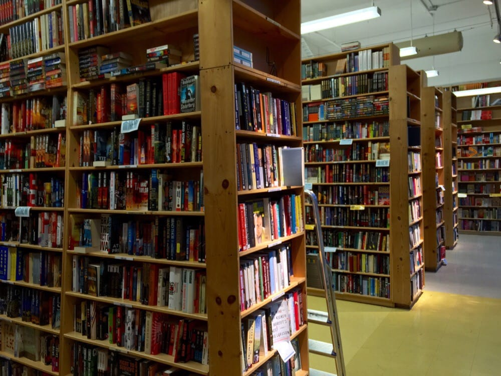 Powell's Books - Portland, OR, United States. Aisles & Aisles of Books in Room after Room on Floor on top of Floor - Powell's Books