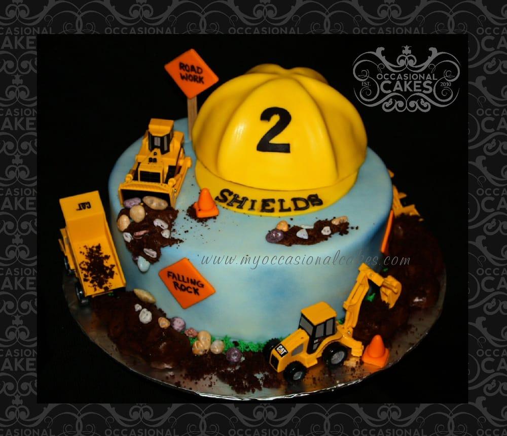 Construction Themed Cake Yelp