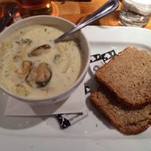 Seafood chowder - so good