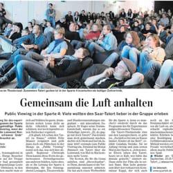 Artikel Saarbrücker Zeitung vom…
