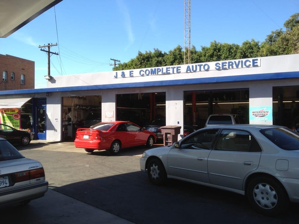 J e complete auto service garages glendale glendale for E and j motors