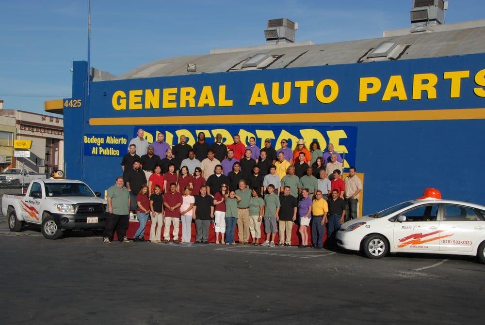 General Auto Parts Auto Parts Supplies East Oakland