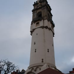Der schiefe Reichenturm, Bautzen, Sachsen