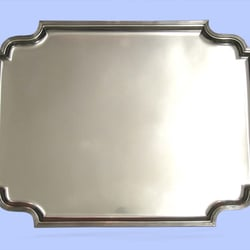 Large Sterling Silver Tray, By Atkins,…