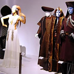 Fidm museum galleries 60 photos museums downtown for Star wars museum california