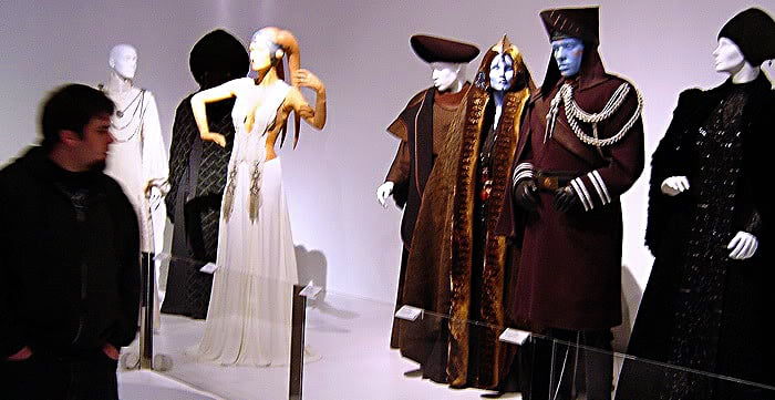 Dressing a galaxy the costumes of star wars 2005 yelp for Star wars museum california