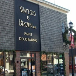 Waters Brown Paint Decorating Interior Design