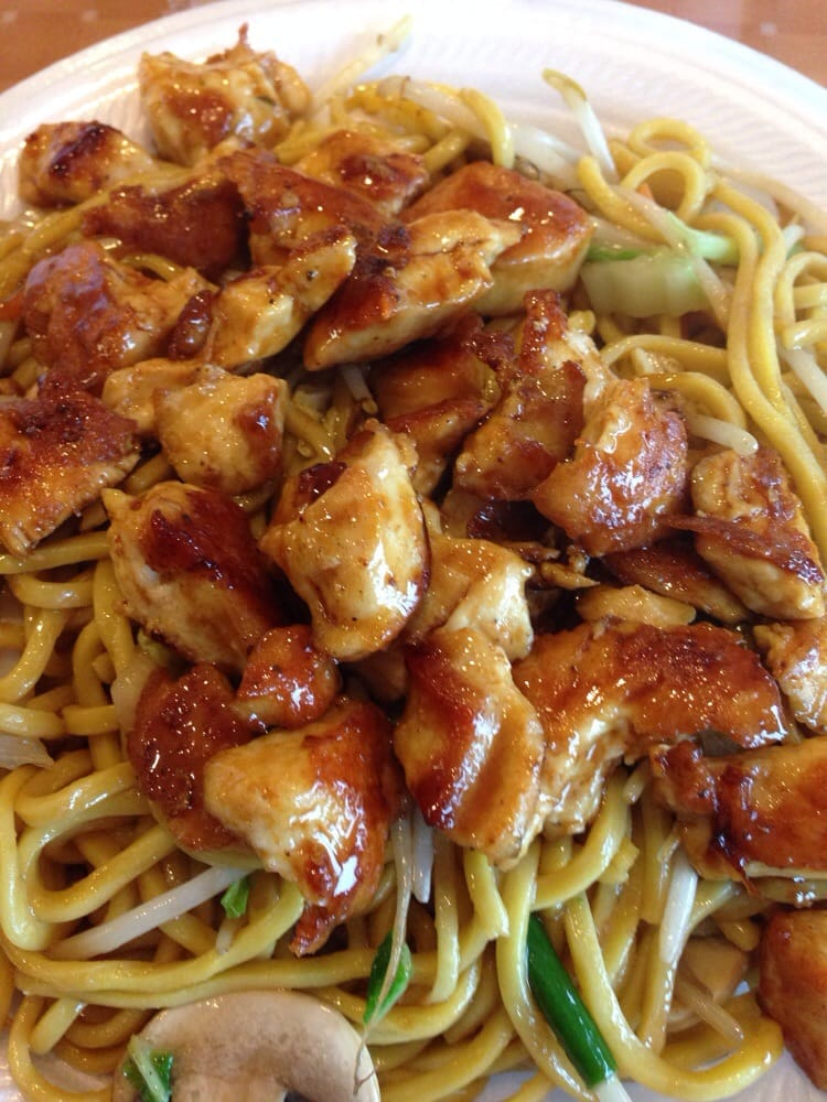 My chicken and noodle yelp for Asian cuisine express