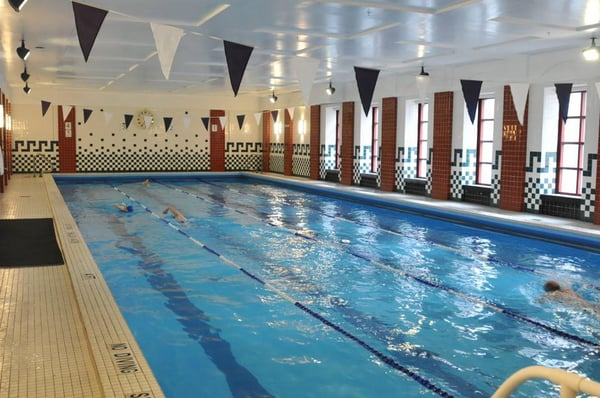 The Sporting Club At The Bellevue Features A 25 Meter Indoor Swimming Pool Yelp