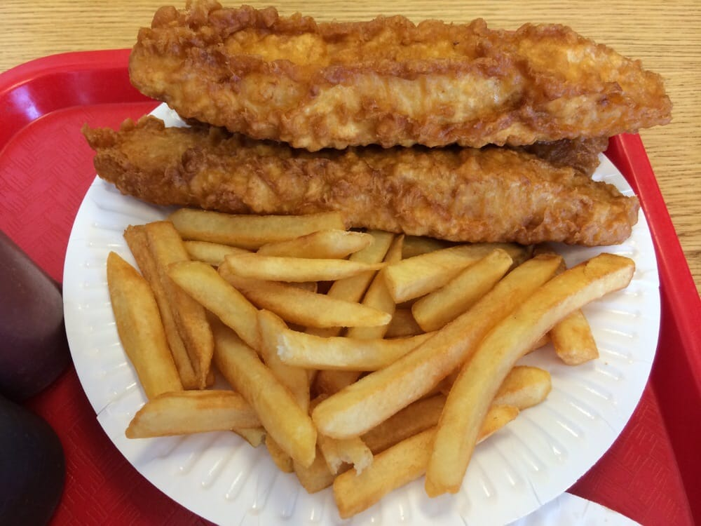 H salt fish and chips 78 reviews british sawtelle for Fish fast food near me