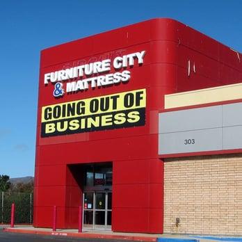 Furniture City Mattress Closed Furniture Shops 303 Gellert Blvd Daly City Ca United