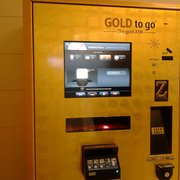 They have a vending machine that vends.... gold!!!