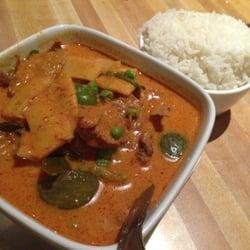 Koon Thai Kitchen Thai Red Curry w Mock Duck tofu