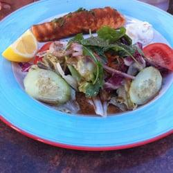 Lachs mit Salat Menüe 11,00 Euro