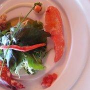 Lobster salad with cider vinegar and…