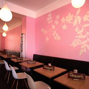 Barcomi's Kaffeerösterei Innenraum