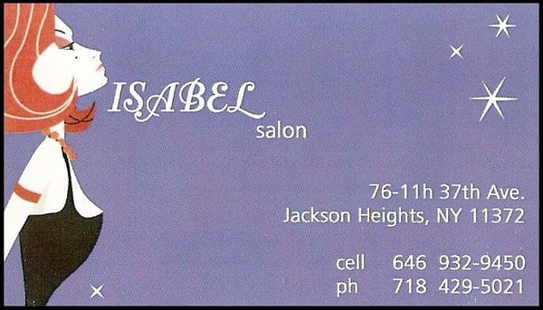 Isabel s hair salon jackson heights jackson heights for 37th street salon
