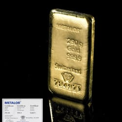 250g gold bars available at Bullion By…