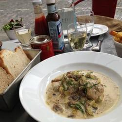 Dish: Rabbit in mustard cream.…