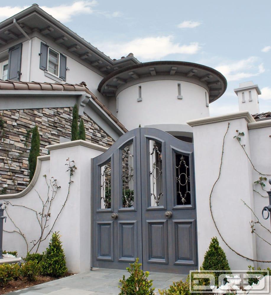 French Style Garden Entry Gates Custom Designed