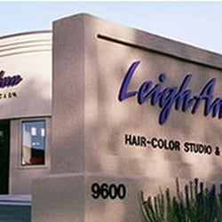 Leigh Ann Hair Color Studio logo