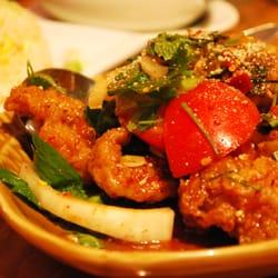 Fish Salad Laotian Style
