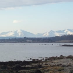 Arran from Innellan beach