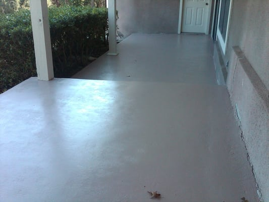 Painting porch floor