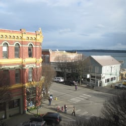 The Palace Hotel - View from the Miss Rose Room #9A. - Port Townsend, WA, Vereinigte Staaten
