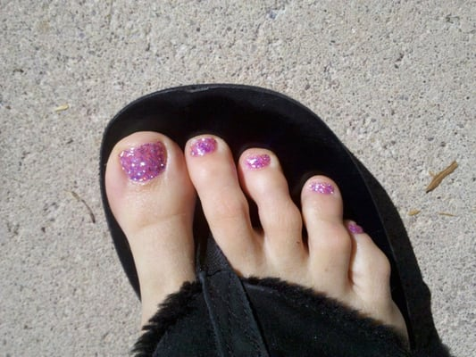Glitter Toes How to do Glitter Toes Yelp
