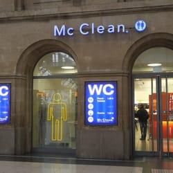 Mac Clean im Hauptbahnhof, Leipzig, Sachsen, Germany