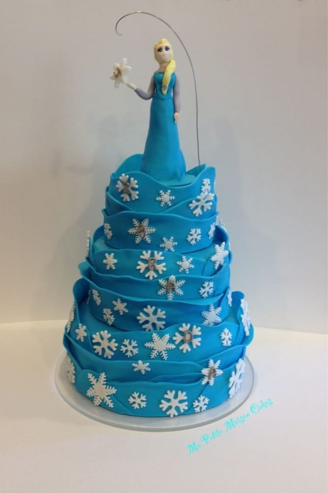 Edible Cake Images Elsa : All edible princess Elsa cake topper Yelp
