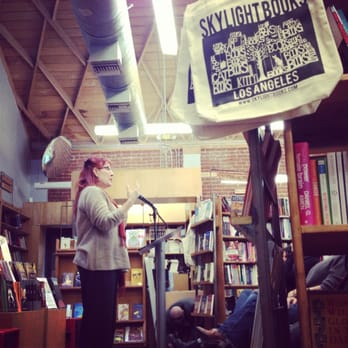 Skylight Books - Poetry reading at Skylight. - Los Angeles, CA, Vereinigte Staaten
