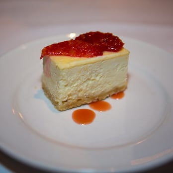 Meyer Lemon Cheesecake with Blood Oranges and Blood Orange Sauce ...