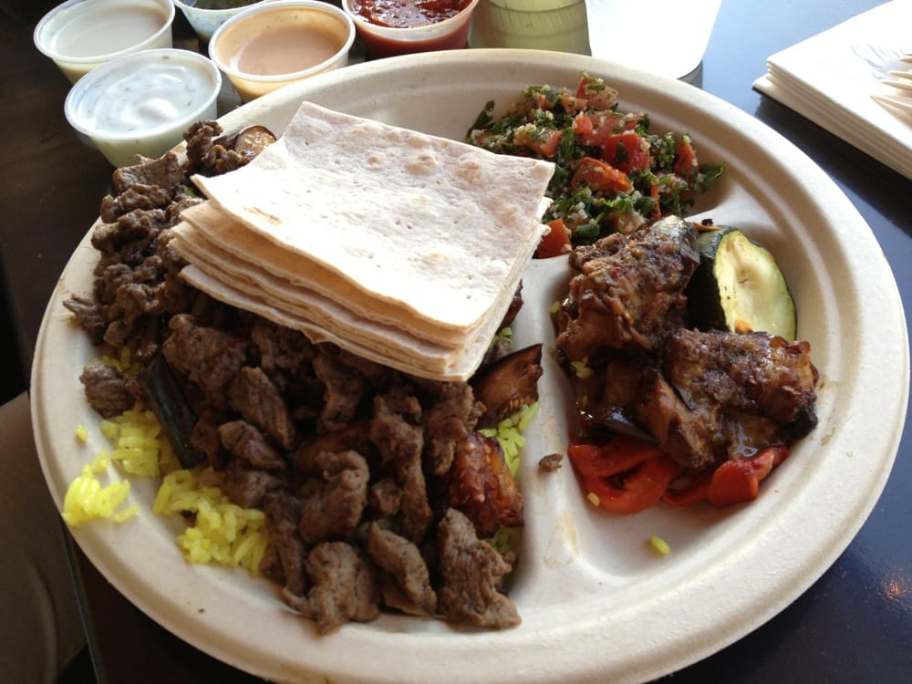 Beef Shawarma Over Rice Beef Shawarma Over Rice