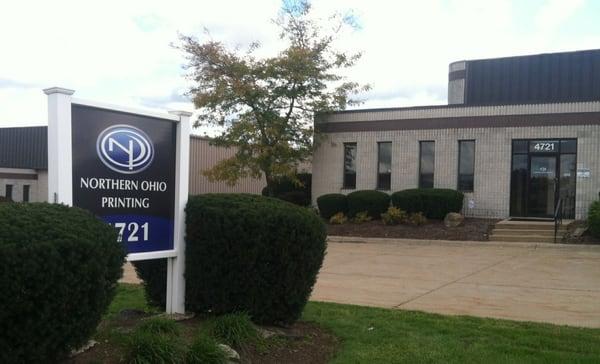 Northern Ohio Printing Printing Services 4721 Hinckley