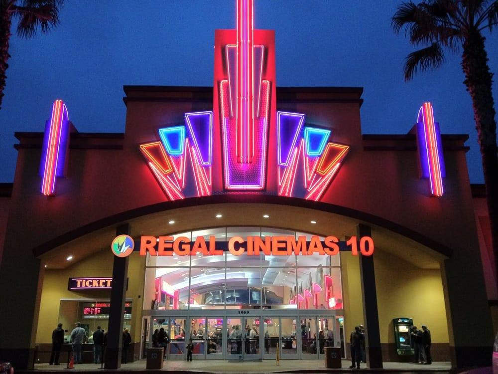 Its a movie Theater  Regal Cinemas Escondido Stadium 16